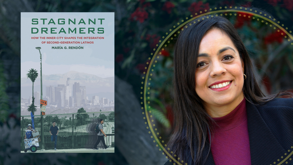 Maria Rendon and her award-winning book