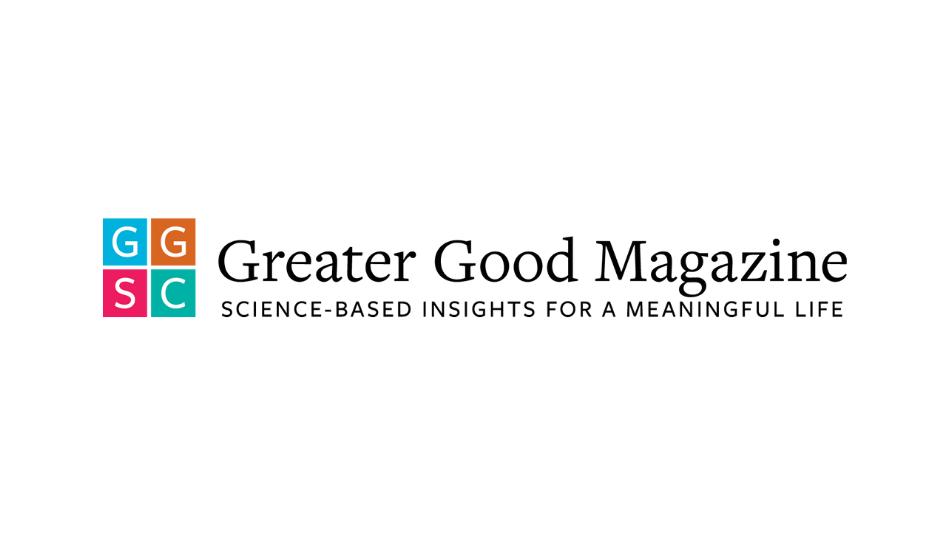 Greater Good Magazine logo