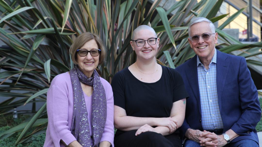 Jeanne Stokols, Hannah Gorback and Dan Stokols