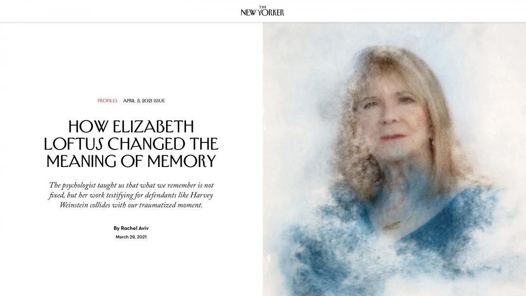 New Yorker Loftus profile