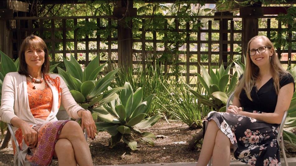 Nancy Guerra and Vrginia Parks