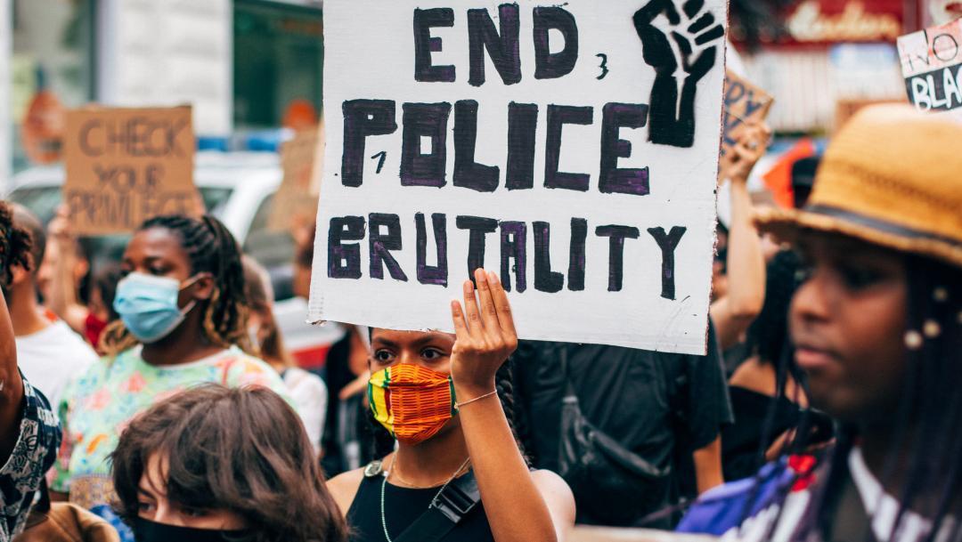 end police brutality protest