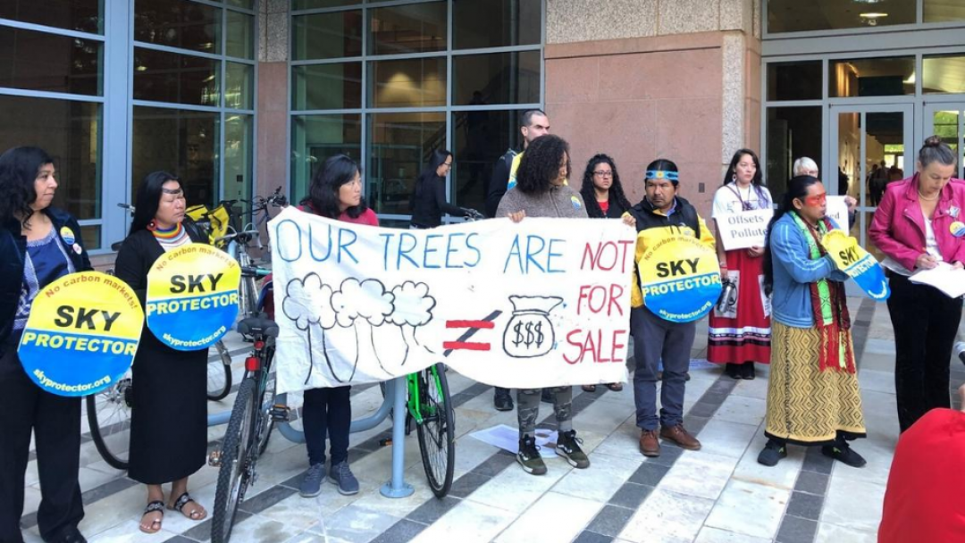 protest for environmental justice