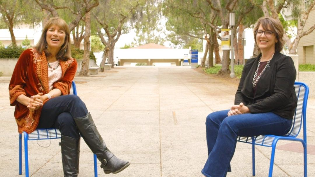 Nancy Guerra and Susan Charles