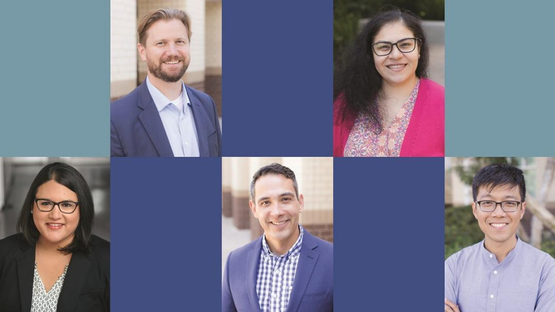 Five new faculty members